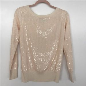 French Connection Sequin Sweater